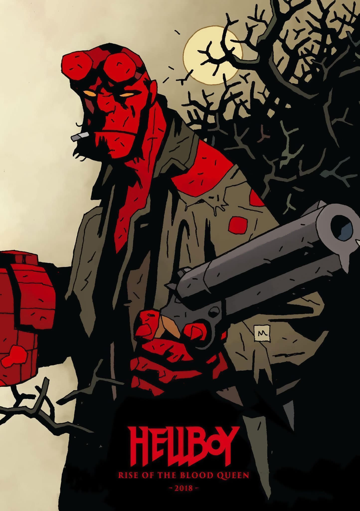Poster and image movie Film Hellboy - Hellboy 2019