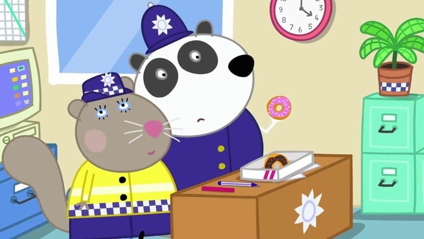 Peppa Pig Season 5 :Episode 36  Police Station