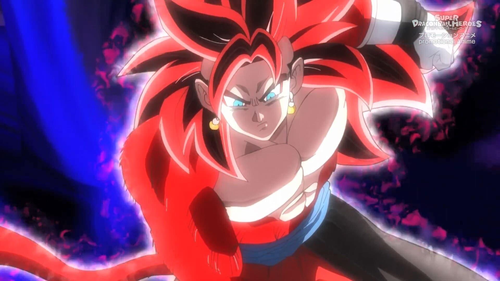 Super Dragon Ball Heroes Season 3 :Episode 9  Reborn Evil - Birth of Dark King Fu!