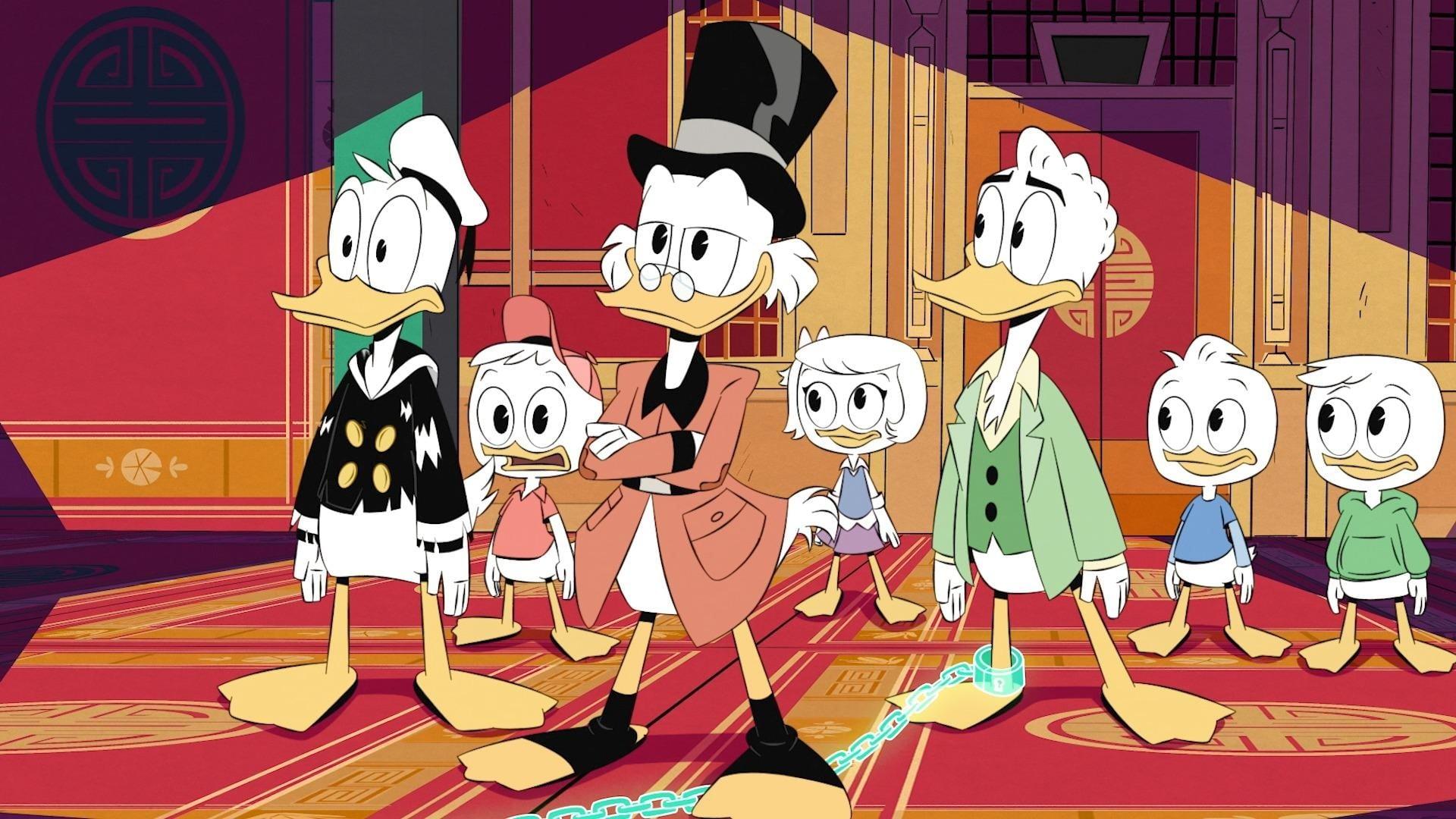 DuckTales Season 1 :Episode 6  The House of the Lucky Gander!