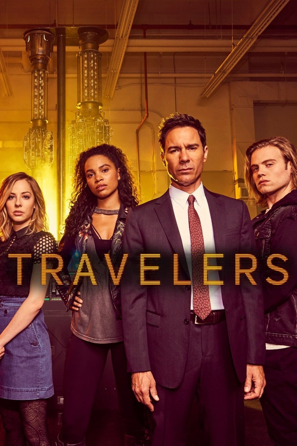 Travelers 2ª Temporada Dual Audio