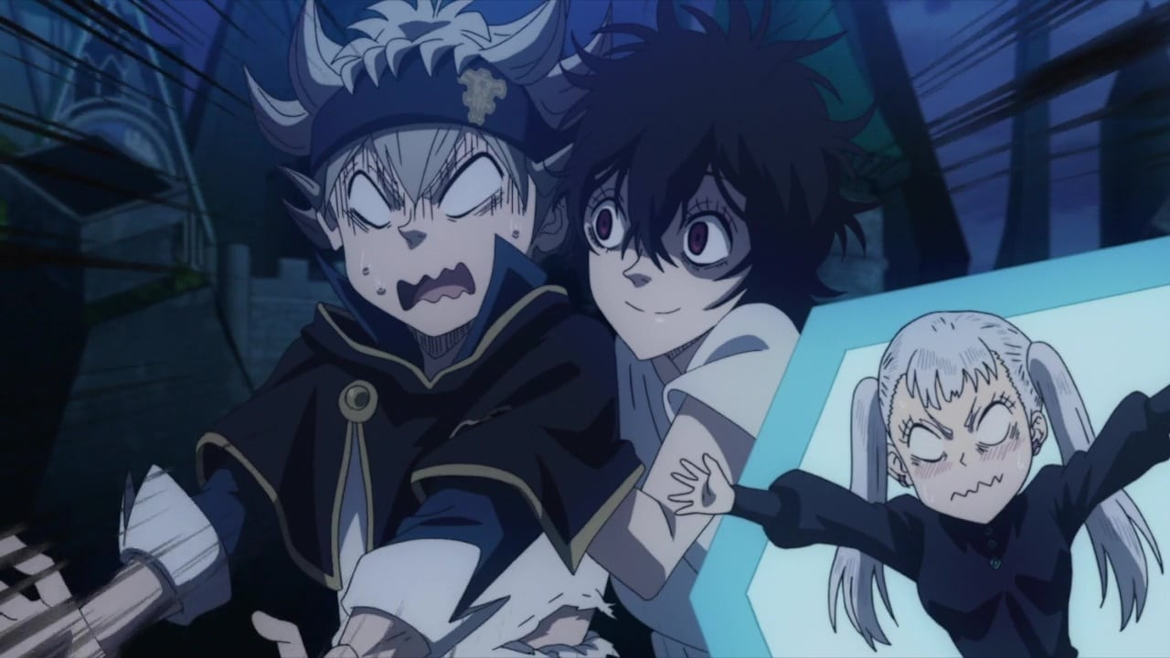 Black Clover Season 1 :Episode 113  Storming the Shadow Palace