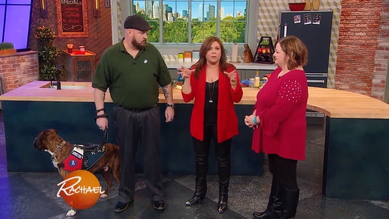 Rachael Ray Season 13 :Episode 136  How Many Rotisserie Chicken Dishes Can Chef Richard Blais Make In 1 Hour? Plus, a $100 Room Makeover