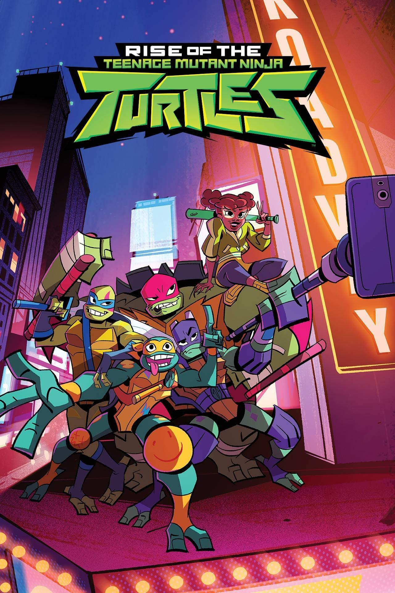 Rise of the Teenage Mutant Ninja Turtles TV Shows About Turtle