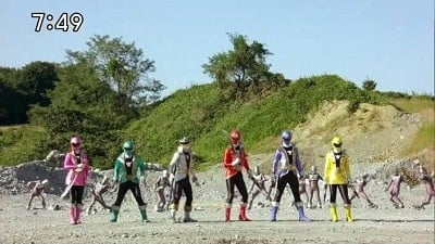 Super Sentai Season 35 :Episode 38  The Power to Seize Dreams