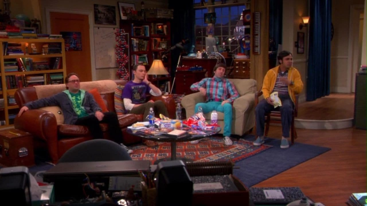 The Big Bang Theory Season 7 :Episode 4  The Raiders Minimization