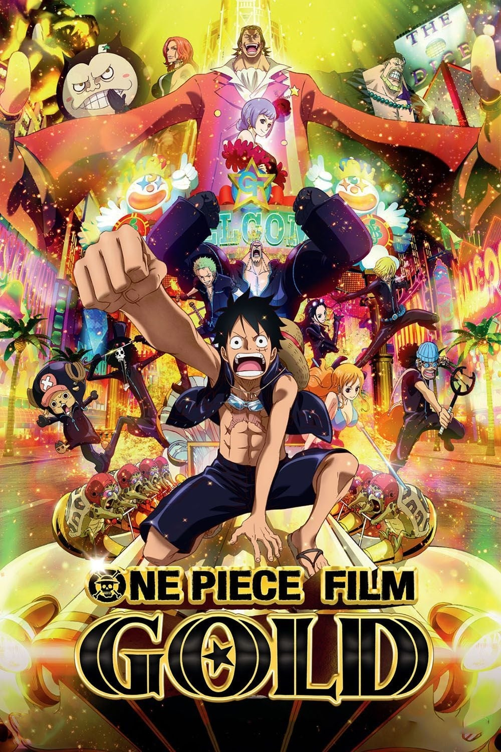 One Piece Filme Gold Stream