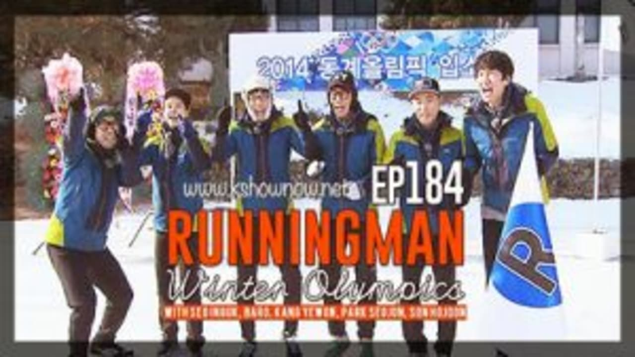 Running Man Season 1 :Episode 184  Winter Olympics