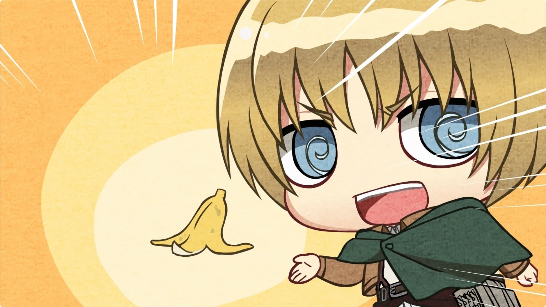 Attack on Titan Season 0 :Episode 24  Chibi Theater: Fly, New Levi Squad, Fly!: Day 53 / Day 54 / Day 55