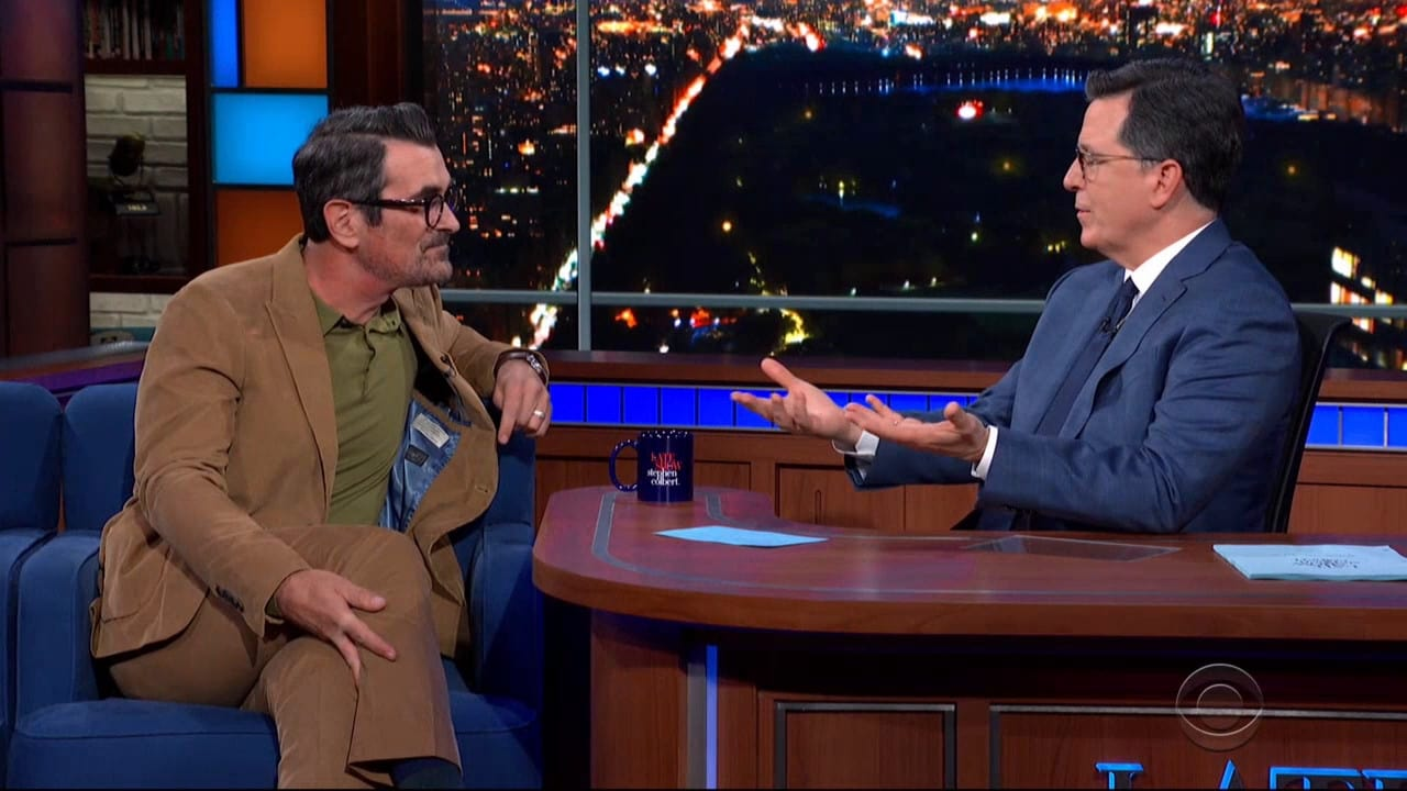 The Late Show with Stephen Colbert Season 5 :Episode 96  Ty Burrell / John Heilemann / James Taylor