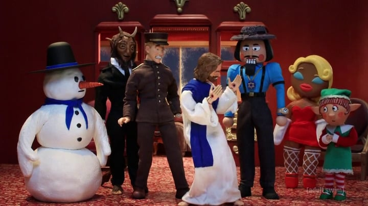 Robot Chicken Season 0 :Episode 18  Robot Chicken's Santa's Dead (Spoiler Alert) Holiday Murder Thing Special