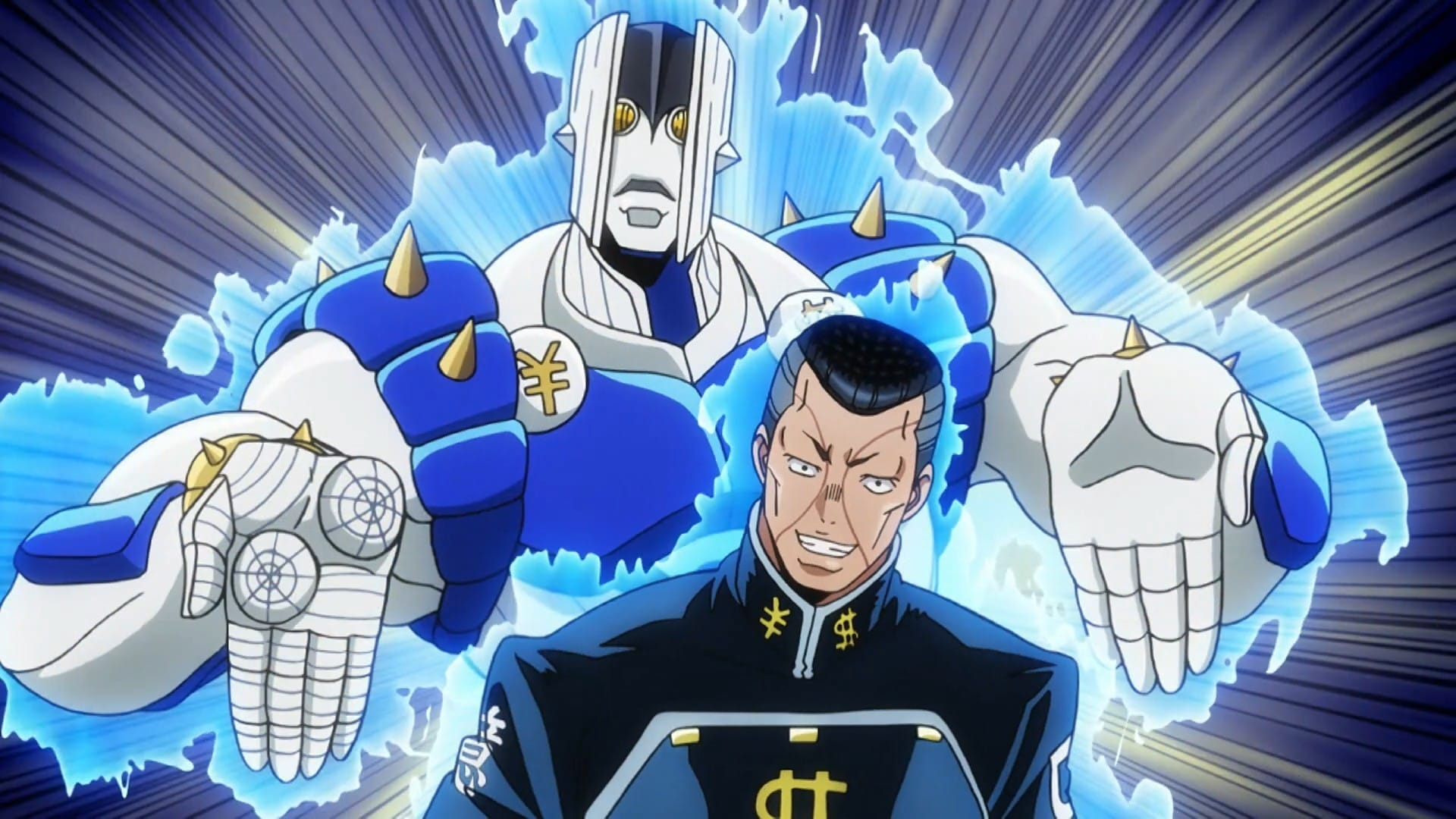 JoJo's Bizarre Adventure Season 3 :Episode 3  The Nijimura Brothers, Part 1