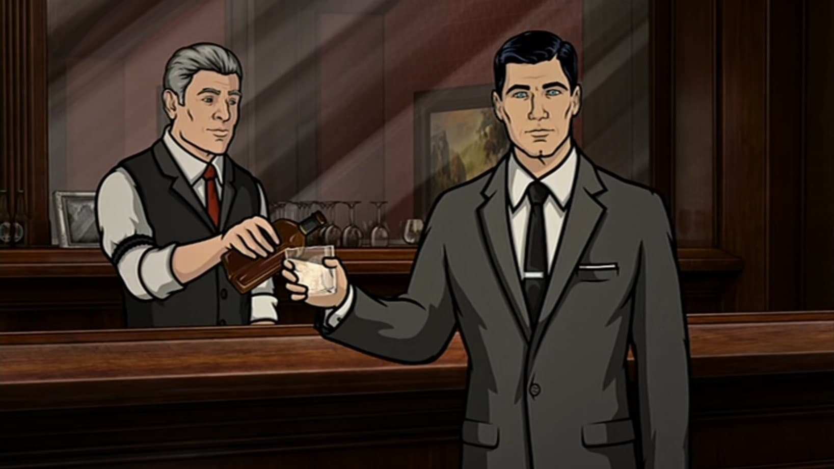 Archer Season 0 :Episode 29  Archer reviews every James Bond Film