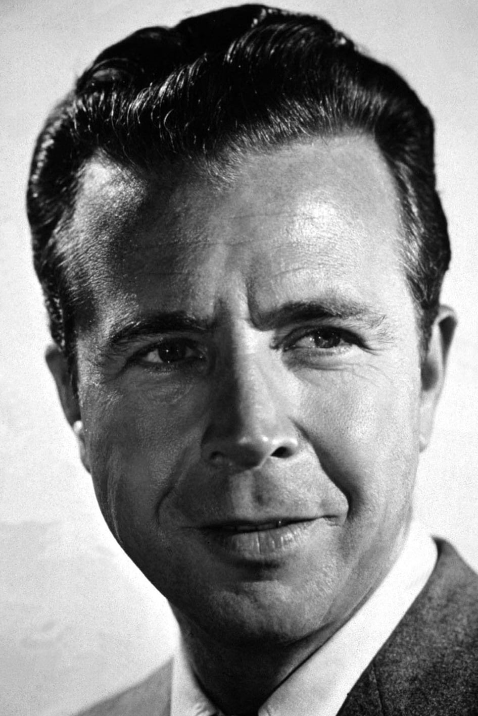 Dick powell, vintage actor painting by john springfield