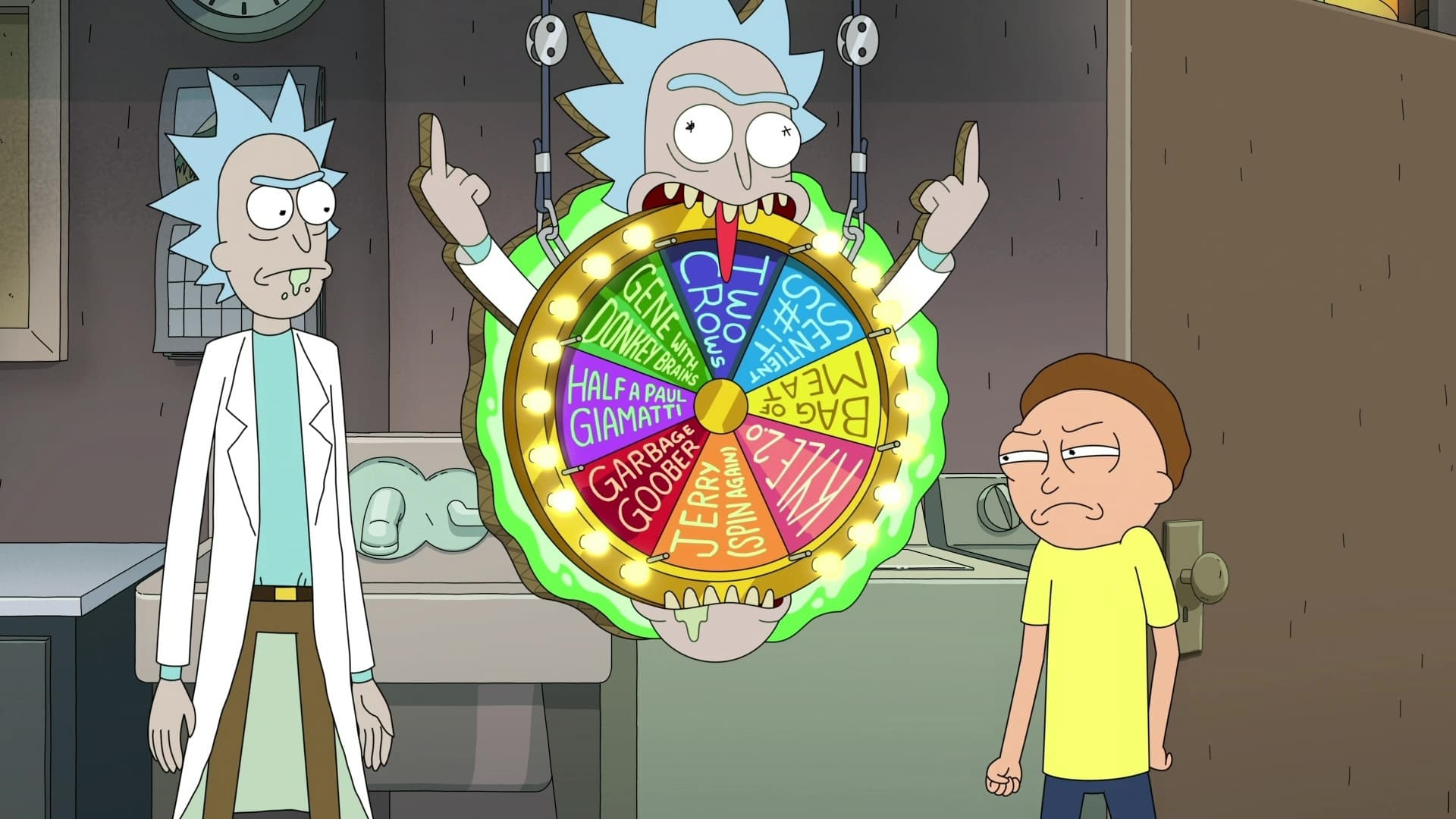 Rick and Morty Season 5 :Episode 9  Forgetting Sarick Mortshall