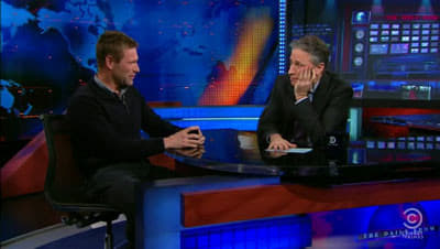 The Daily Show with Trevor Noah Season 16 :Episode 35  Aaron Eckhart