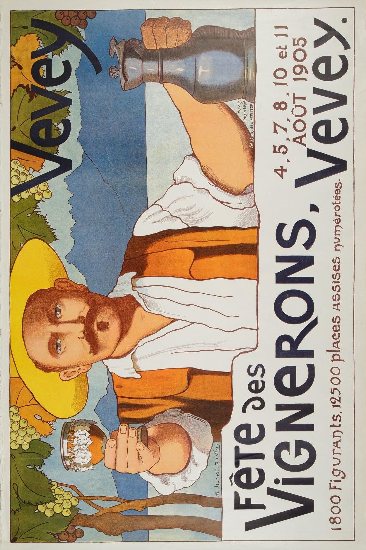 The Vintner's Festival - Vevey 1905
