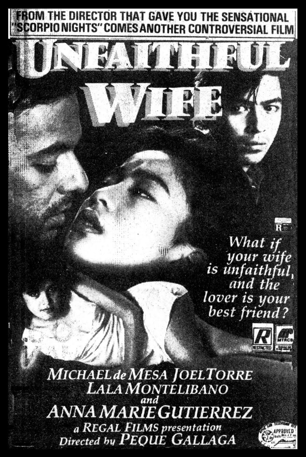 Ver Unfaithful Wife Online HD Español (1986)