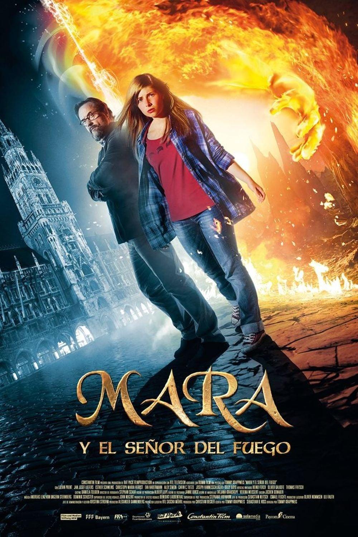 Póster Mara y el se�or del fuego
