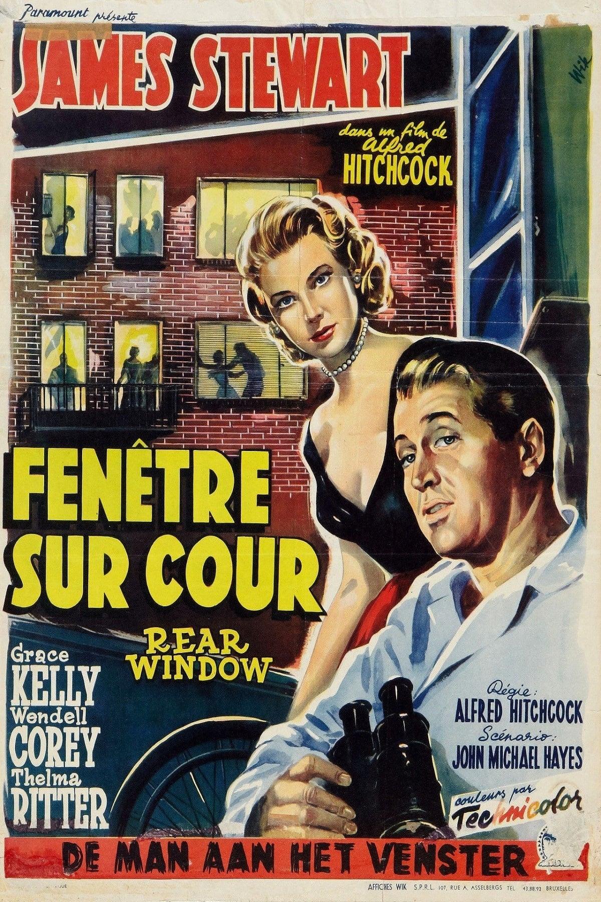 fen tre sur cour 1954 le film. Black Bedroom Furniture Sets. Home Design Ideas