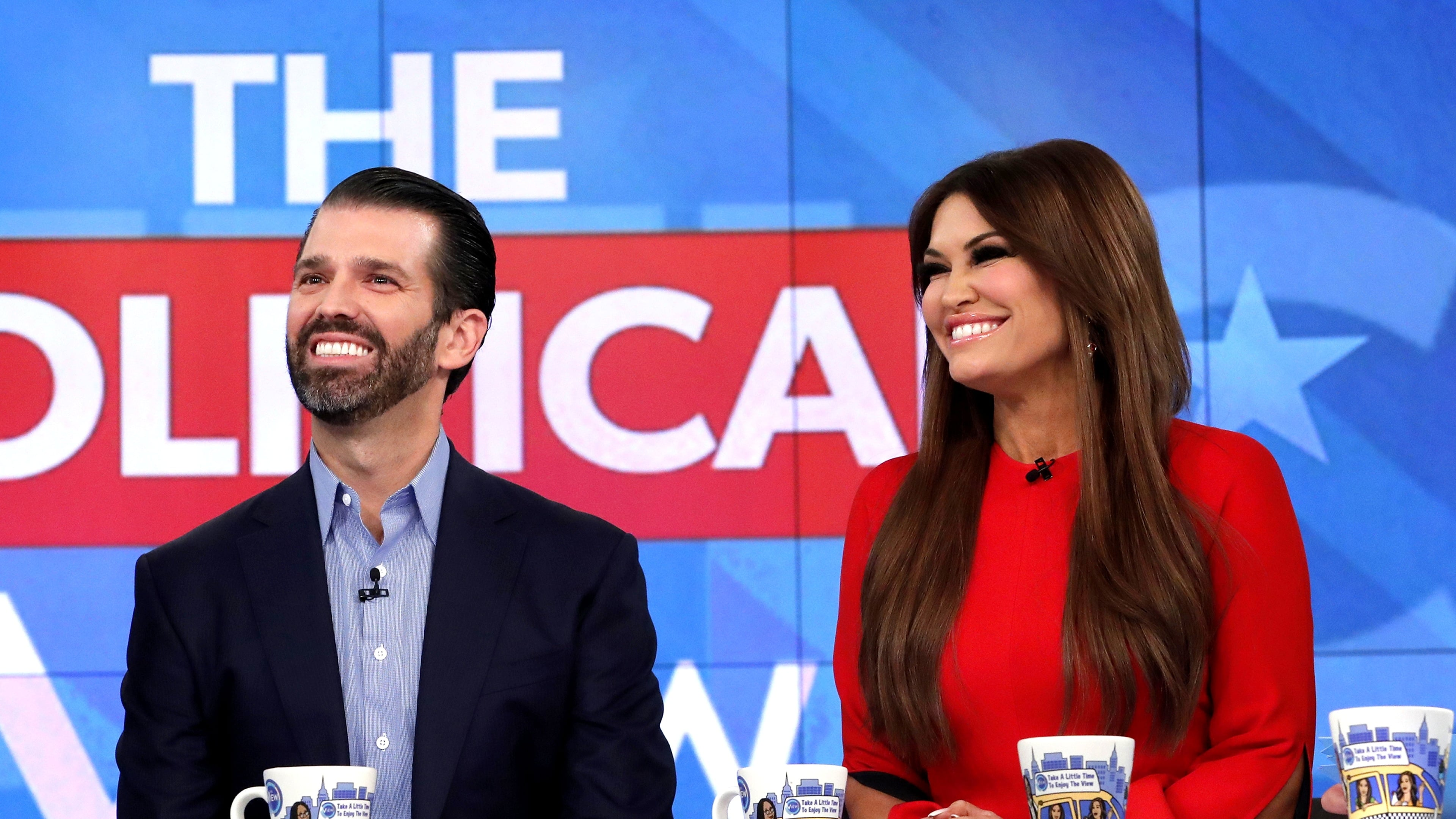 The View Season 23 :Episode 48  Donald Trump Jr. and Kimberly Guilfoyle