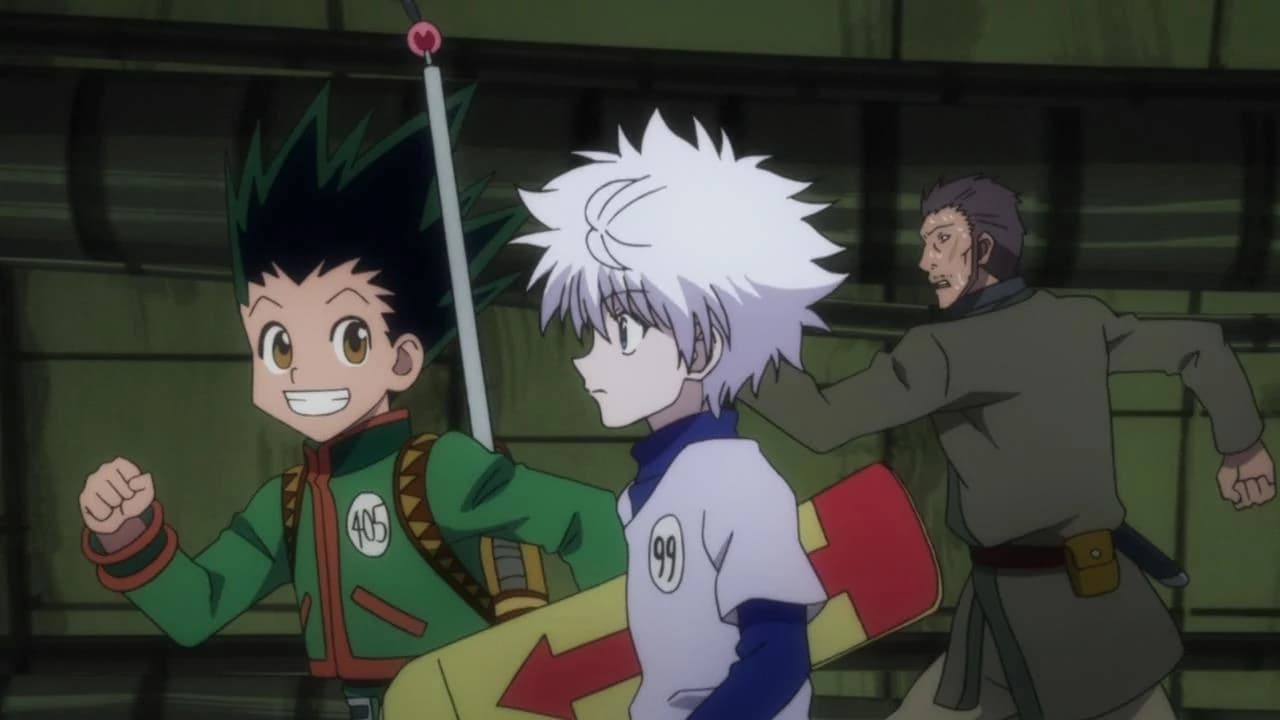 Hunter x Hunter - Season 1 Episode 4 : Hope x And x Ambition
