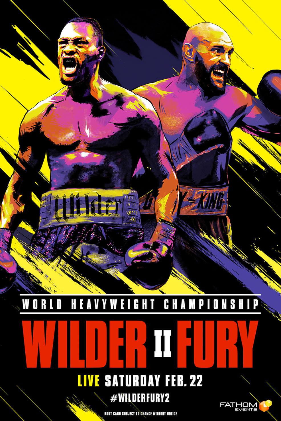 Deontay Wilder vs. Tyson Fury II