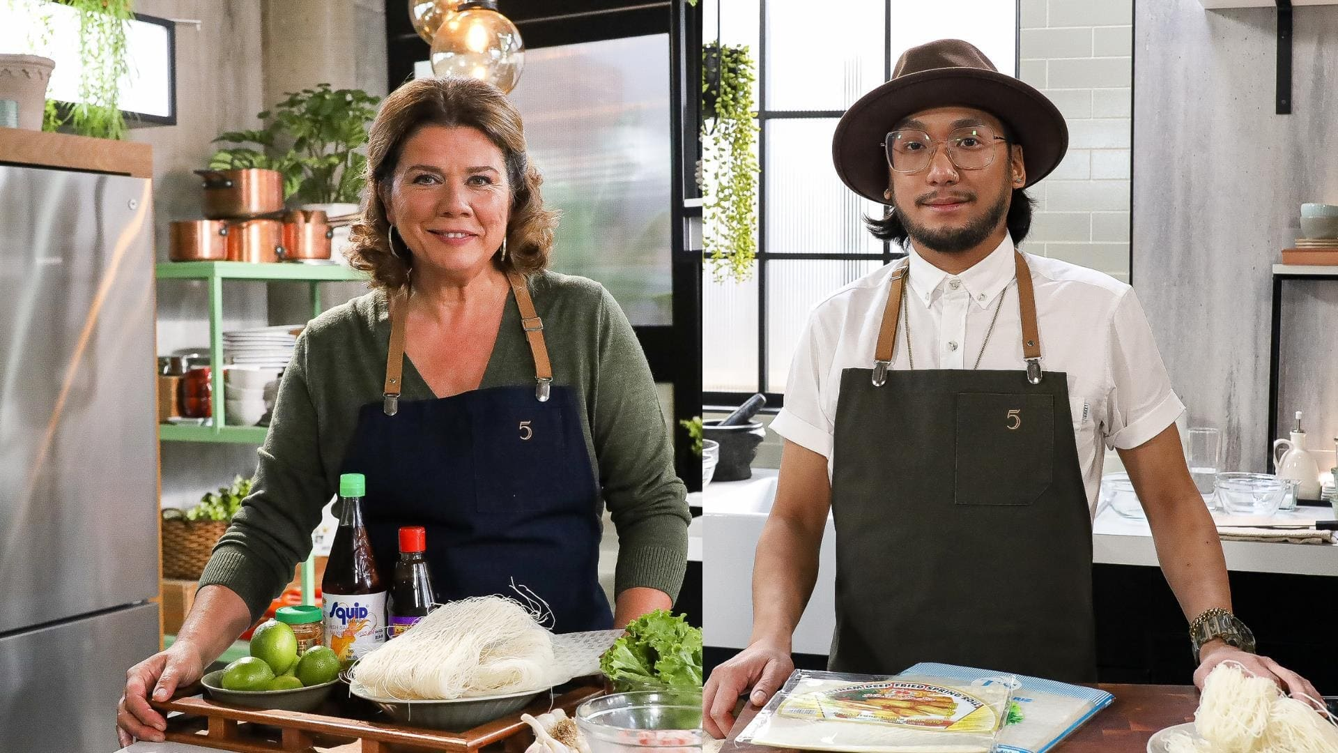 5 chefs dans ma cuisine Season 1 :Episode 23  Episode 23