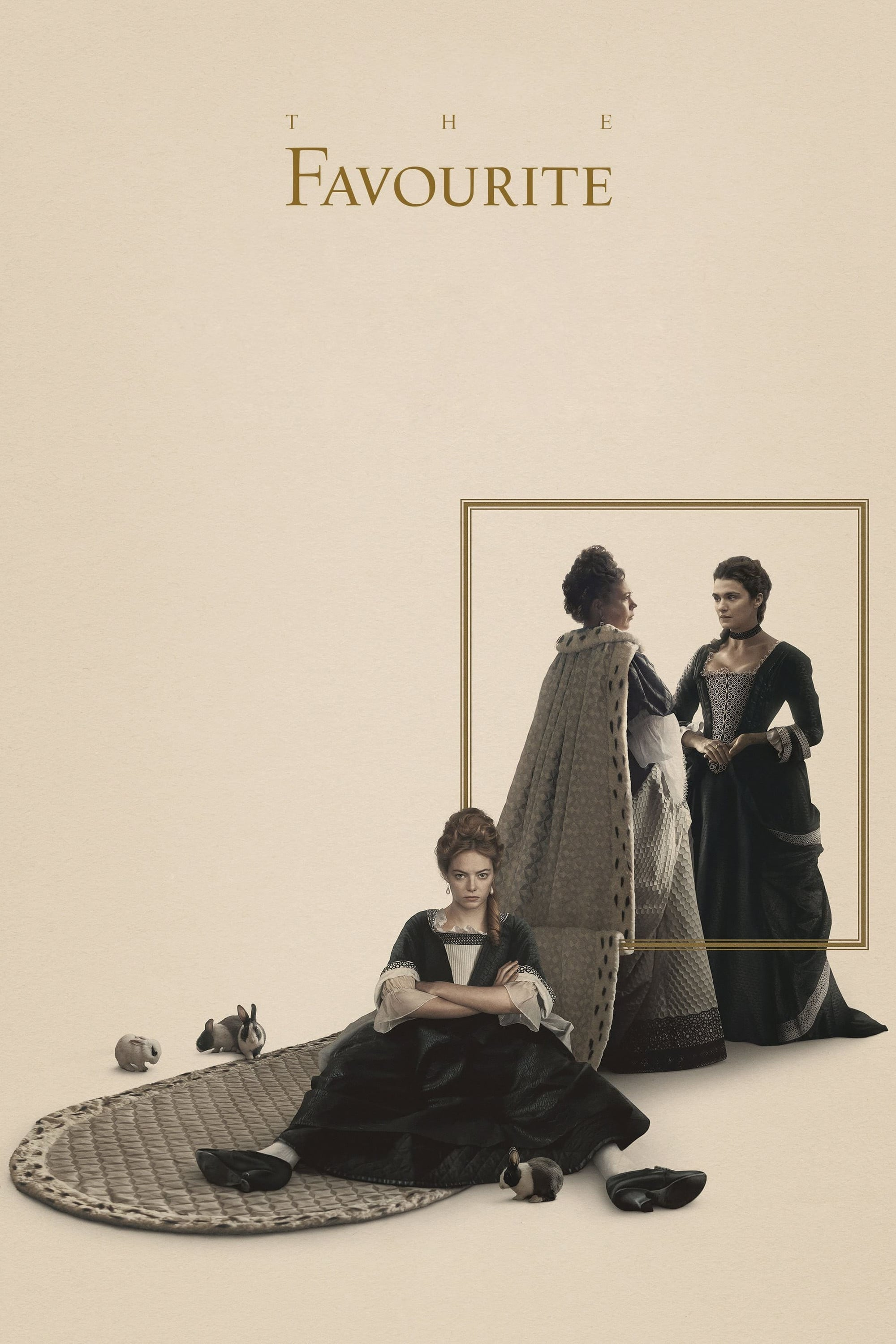 Poster and image movie Film The Favourite - The Favourite 2018
