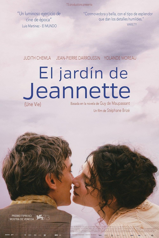 Póster El jardín de Jeannette