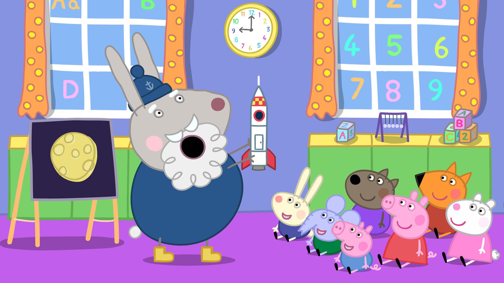 Peppa Pig Season 4 :Episode 50  Grampy Rabbit in Space