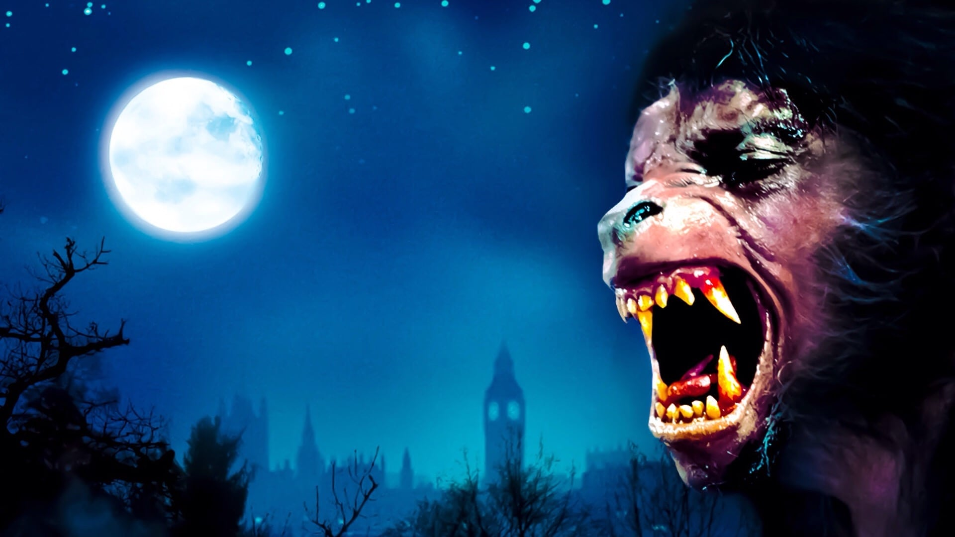 An American Werewolf In London 1981 Backdrops The Movie