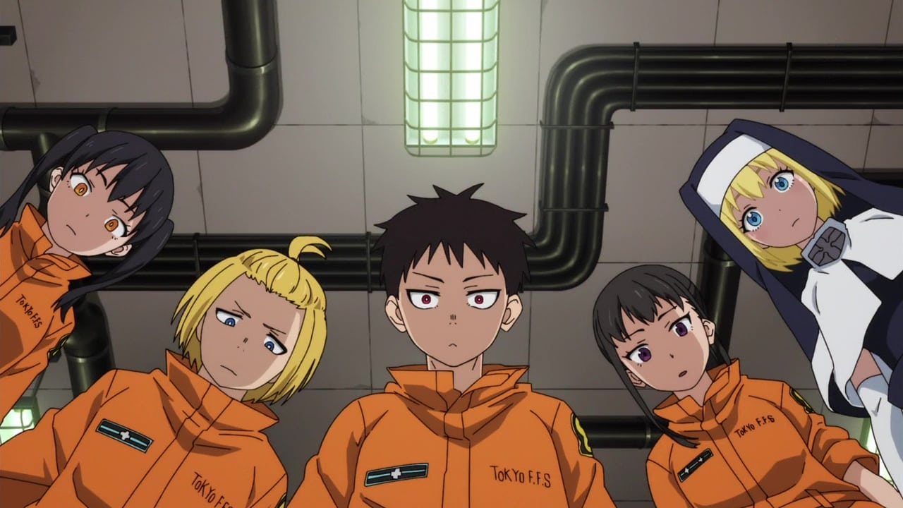 Fire Force Season 1 :Episode 11  Formation of Special Fire Force Company 8 / The Mightiest Hikeshi