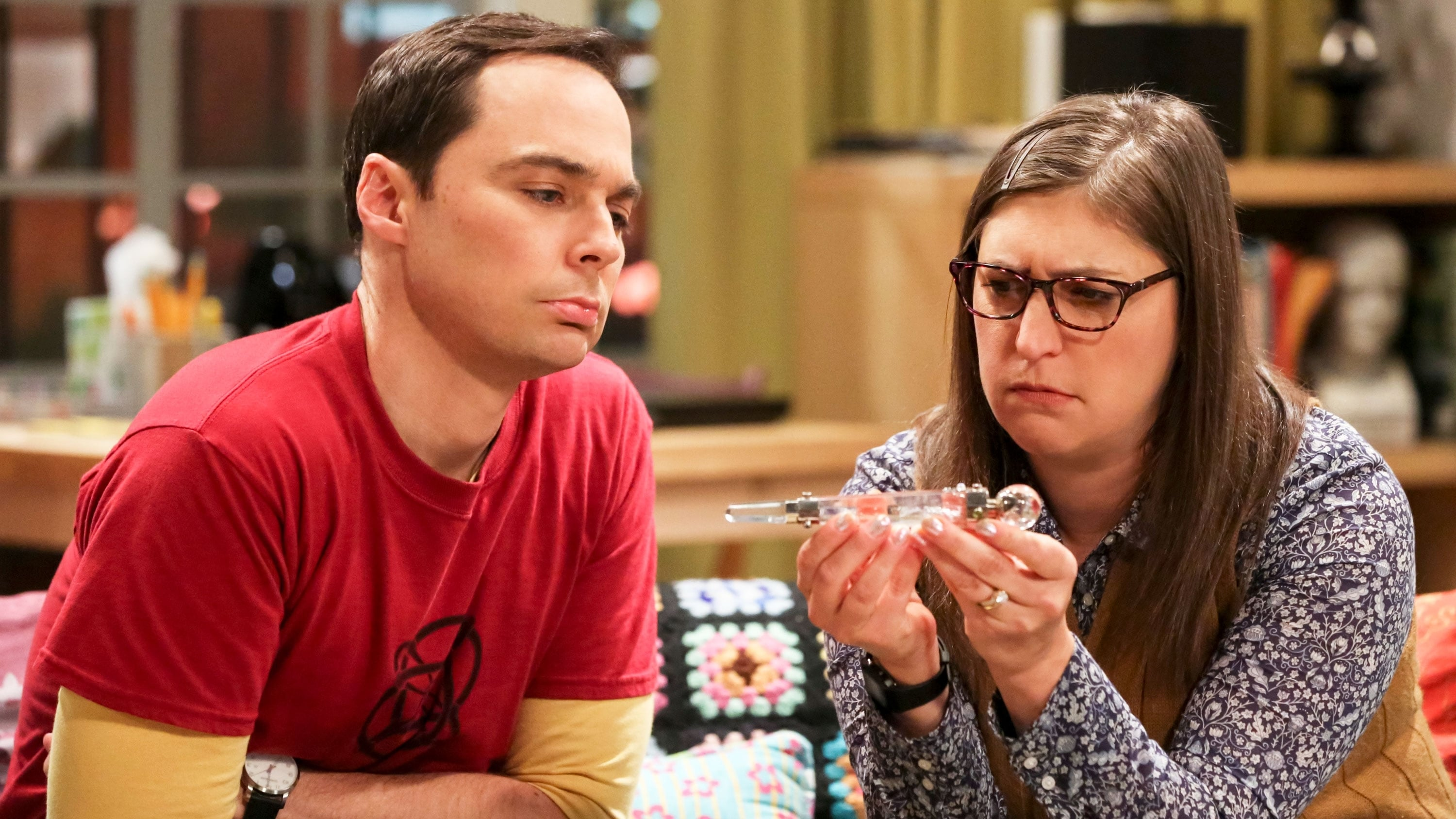 The Big Bang Theory Season 12 :Episode 2  The Wedding Gift Wormhole
