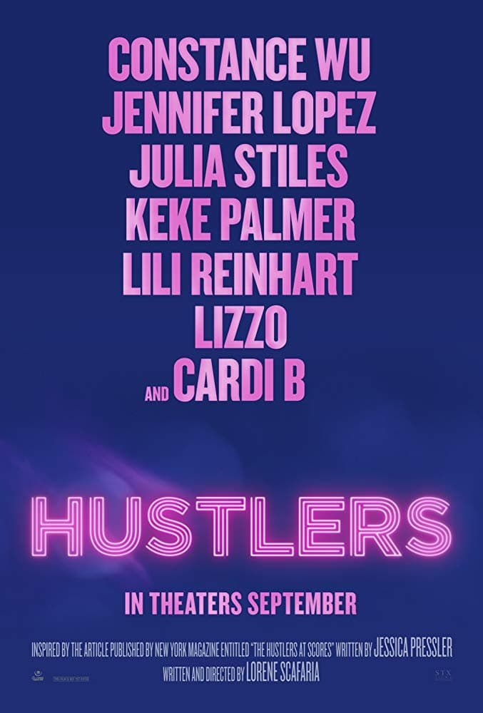 Poster and image movie Film Hustlers 2019