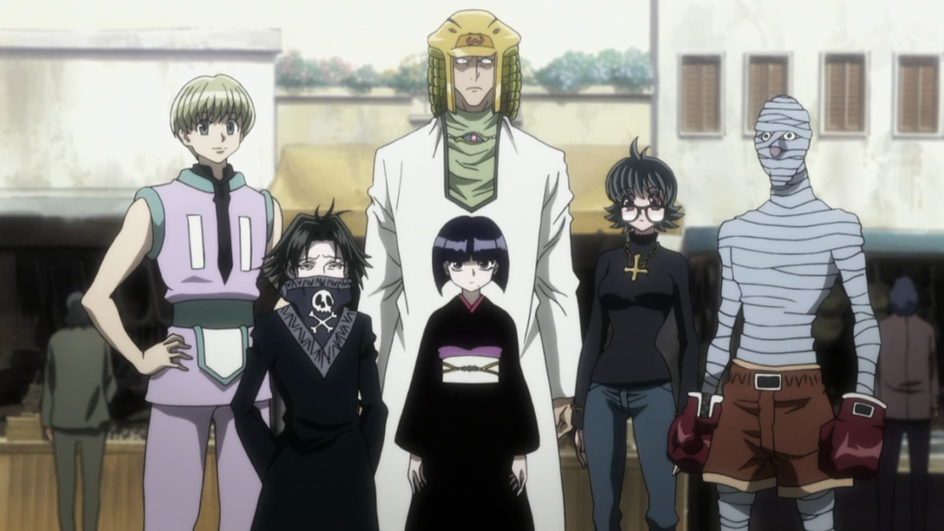 Hunter x Hunter Season 2 :Episode 34  A x Lawless x Home