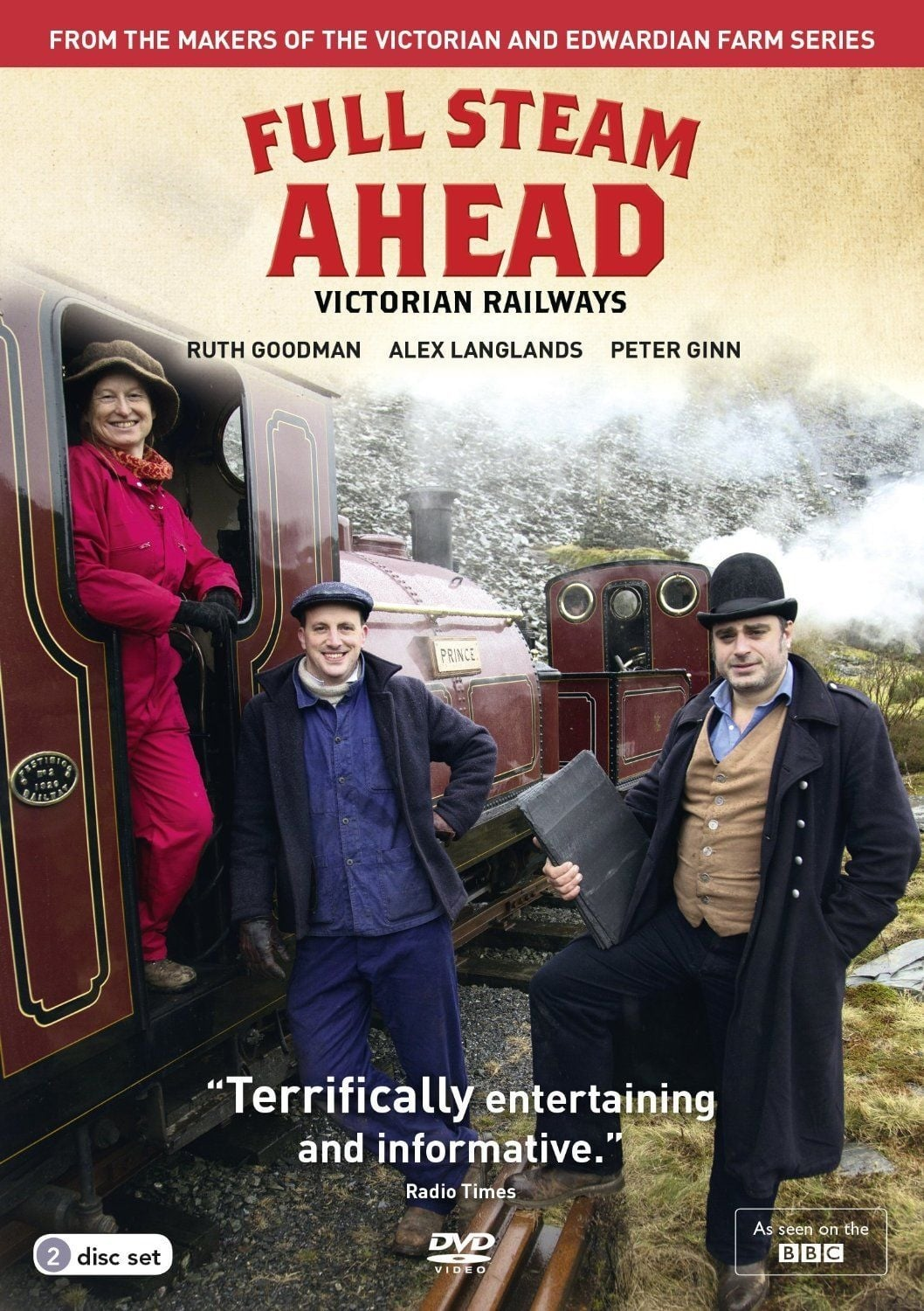 Full Steam Ahead TV Shows About United Kingdom