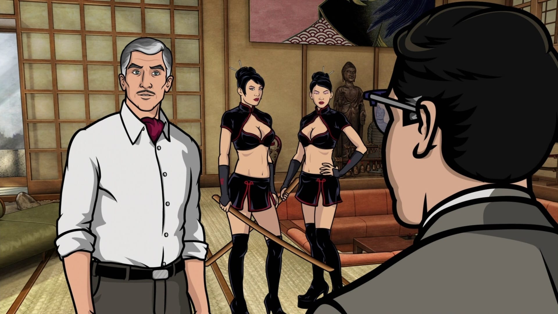 Archer Season 2 :Episode 6  Tragical History