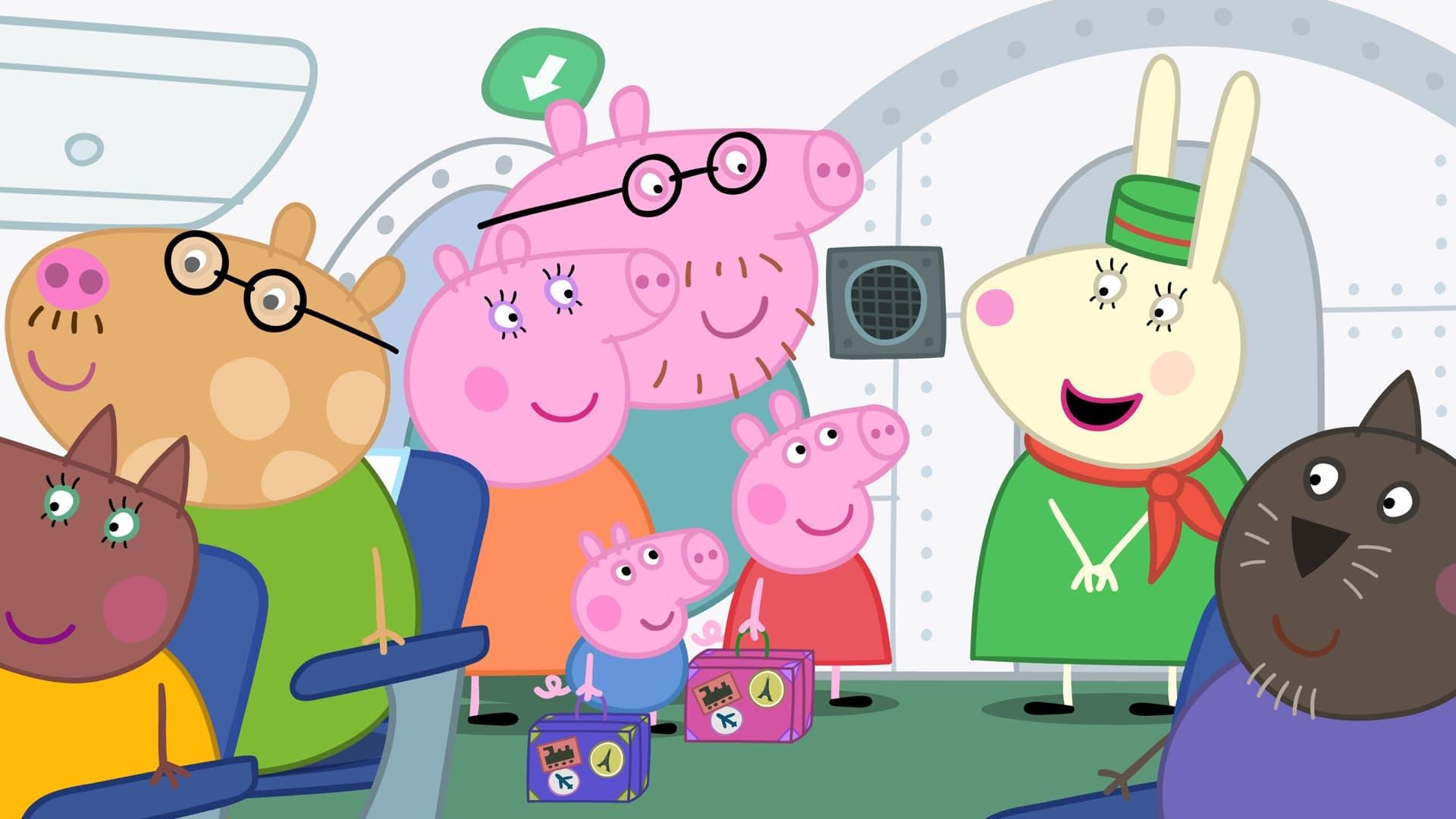 Peppa Pig Season 4 :Episode 36  Flying on Holiday