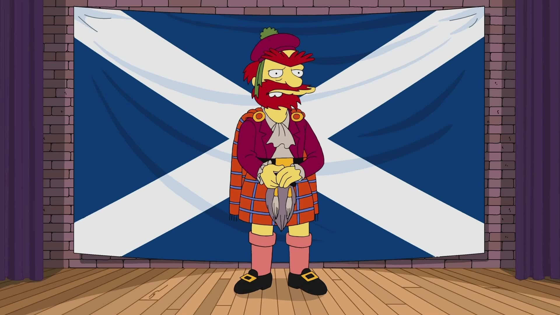 The Simpsons Season 0 :Episode 71  Willie's Views On Scottish Independence