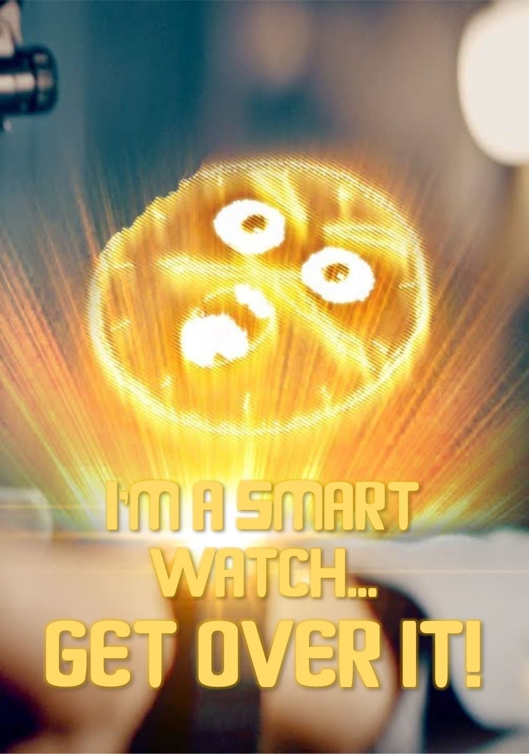 Ver I'm a Smart Watch, Get Over It! Online HD Español ()