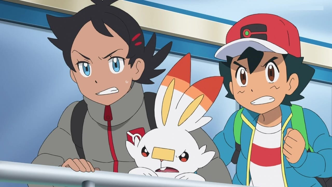 Pokémon Season 23 :Episode 8  The Sinnoh Iceberg Race!