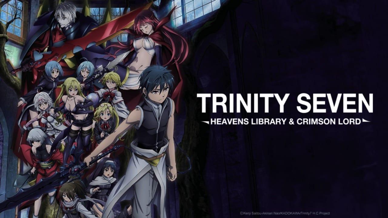 Trinity Seven 2: Heaven's Library & Crimson Lord