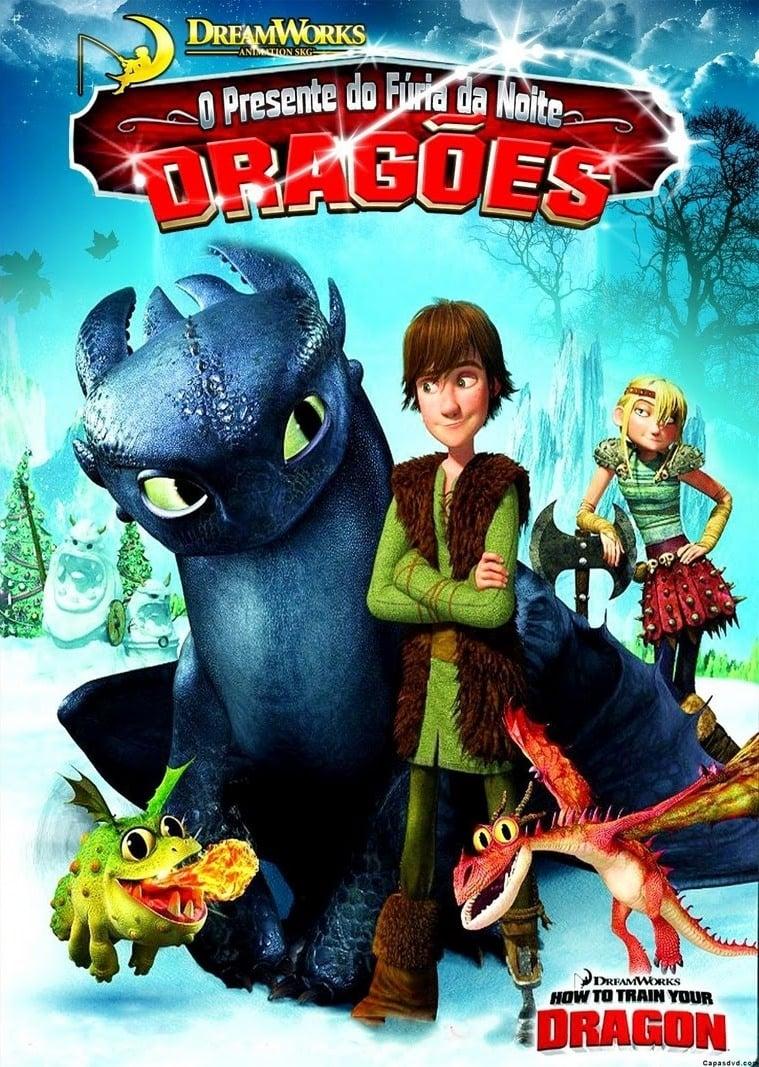 Dragões: O Presente do Fúria da Noite Dublado