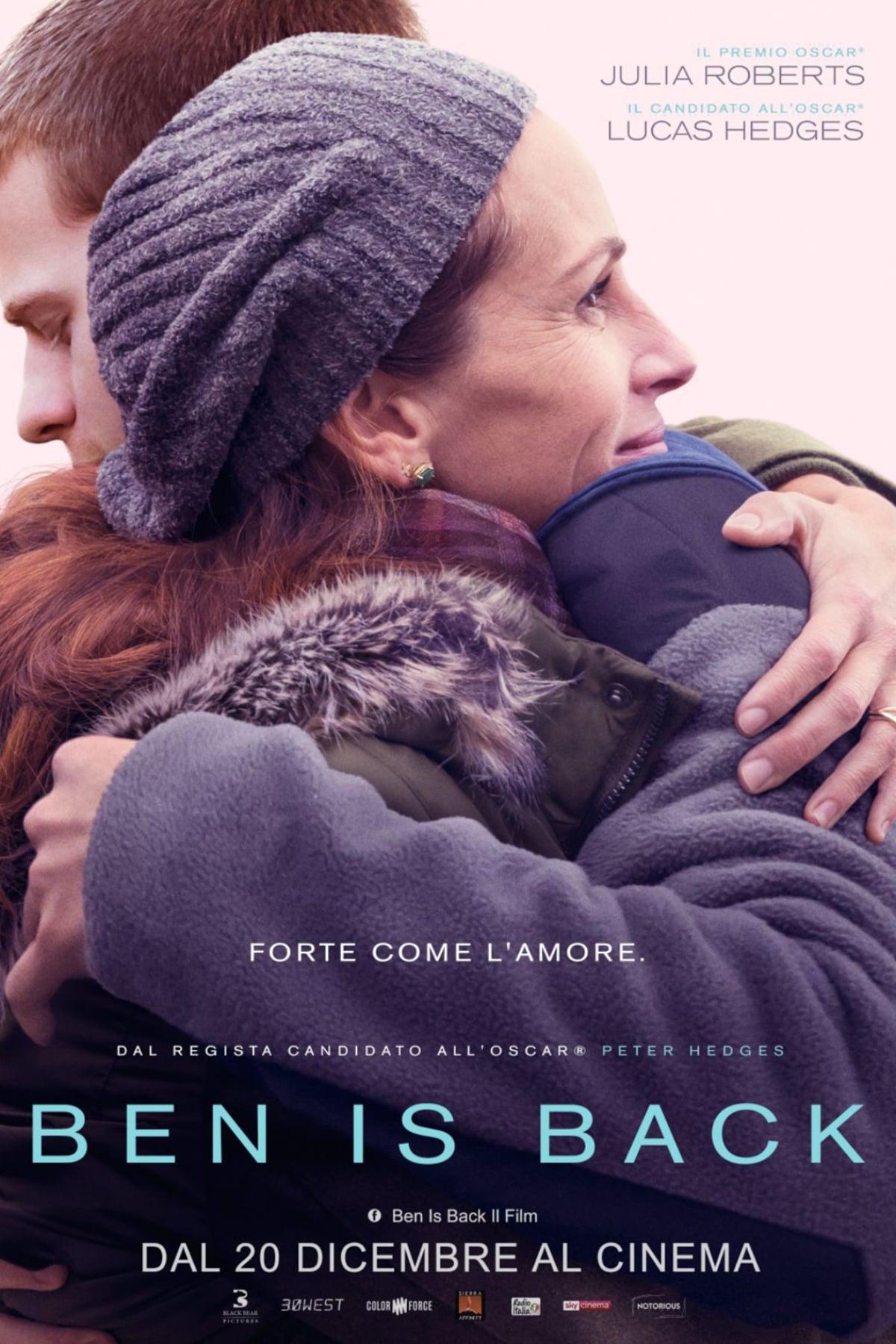 Poster and image movie Film Ben Is Back - Benas grizo i namus -  2018