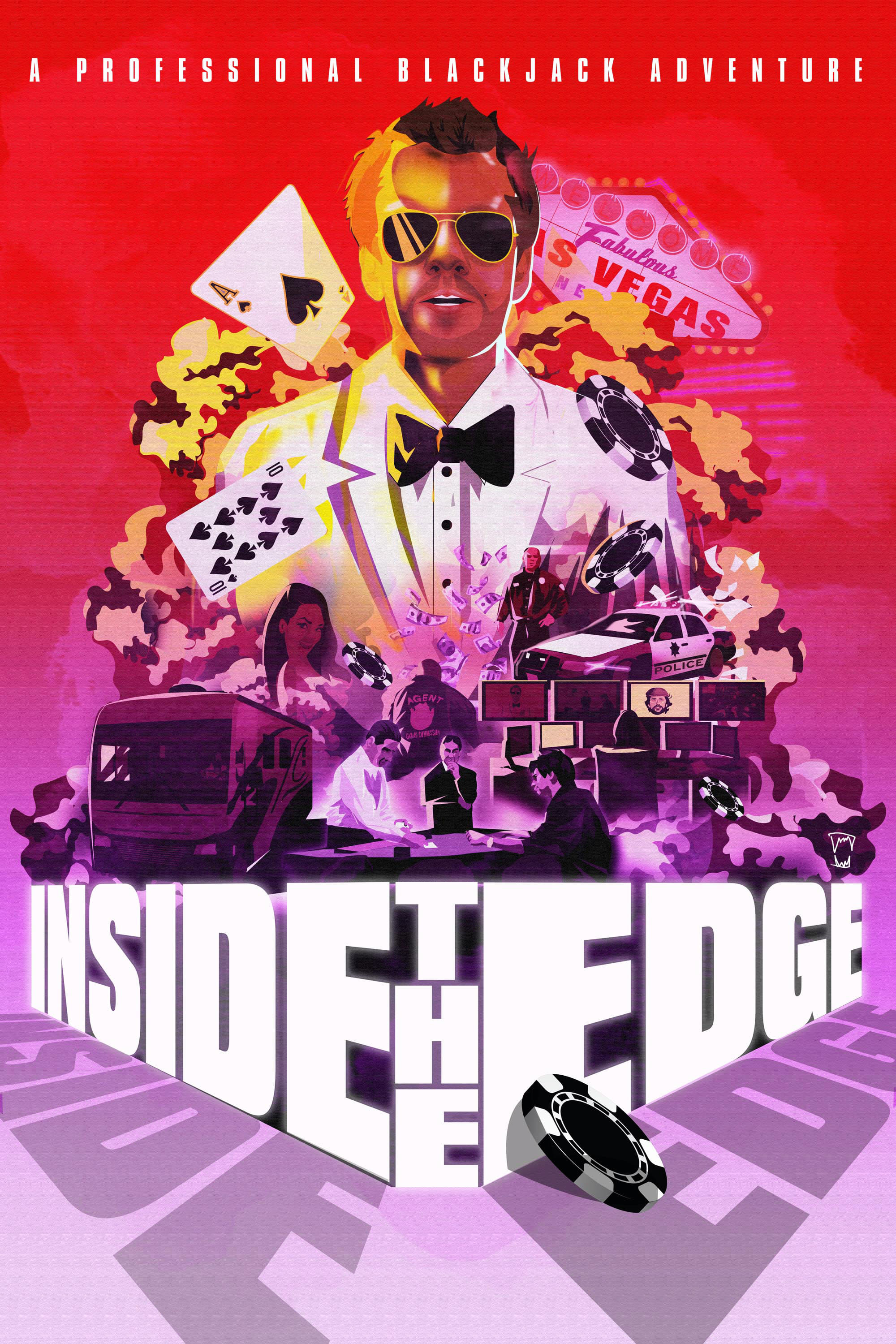 Inside the Edge: A Professional Blackjack Adventure (2019)