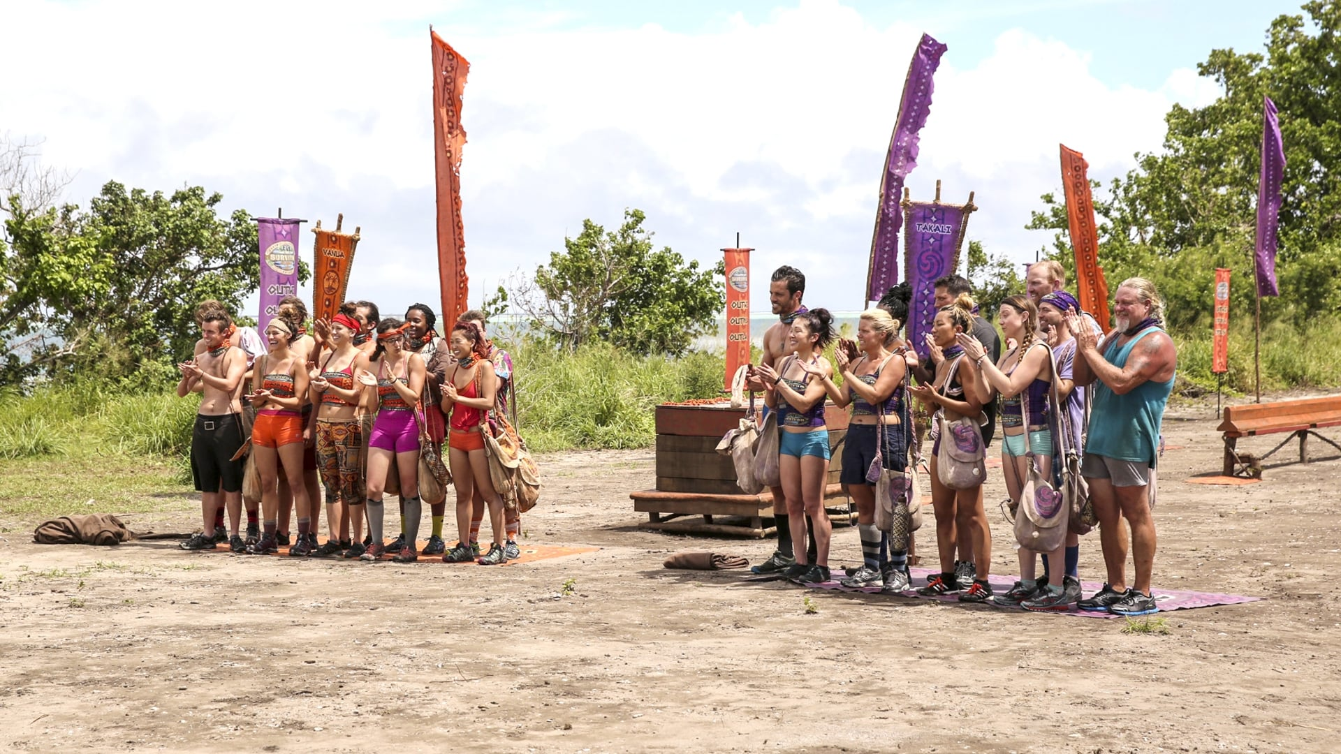 Survivor Season 33 :Episode 1  May the Best Generation Win