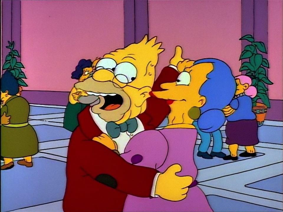 The Simpsons Season 2 :Episode 17  Old Money