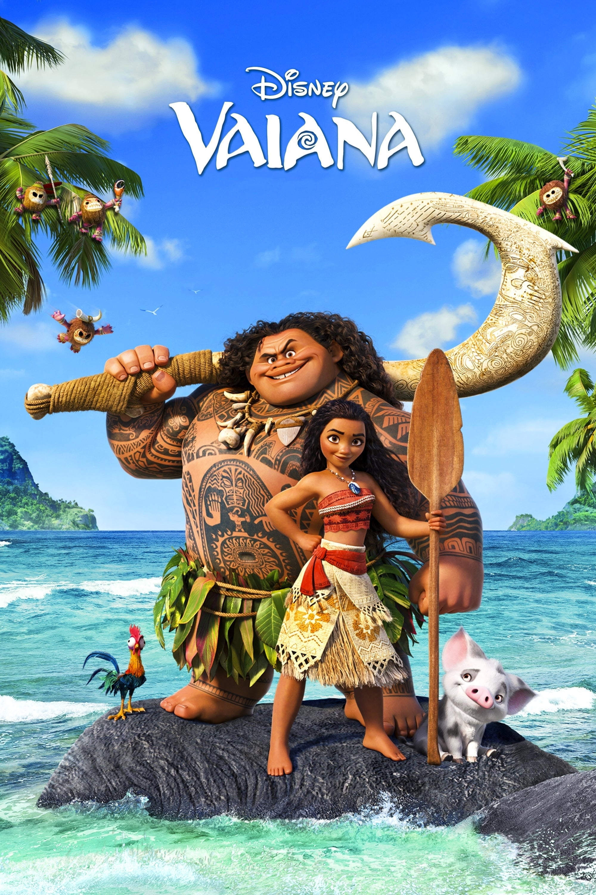Moana Stream English