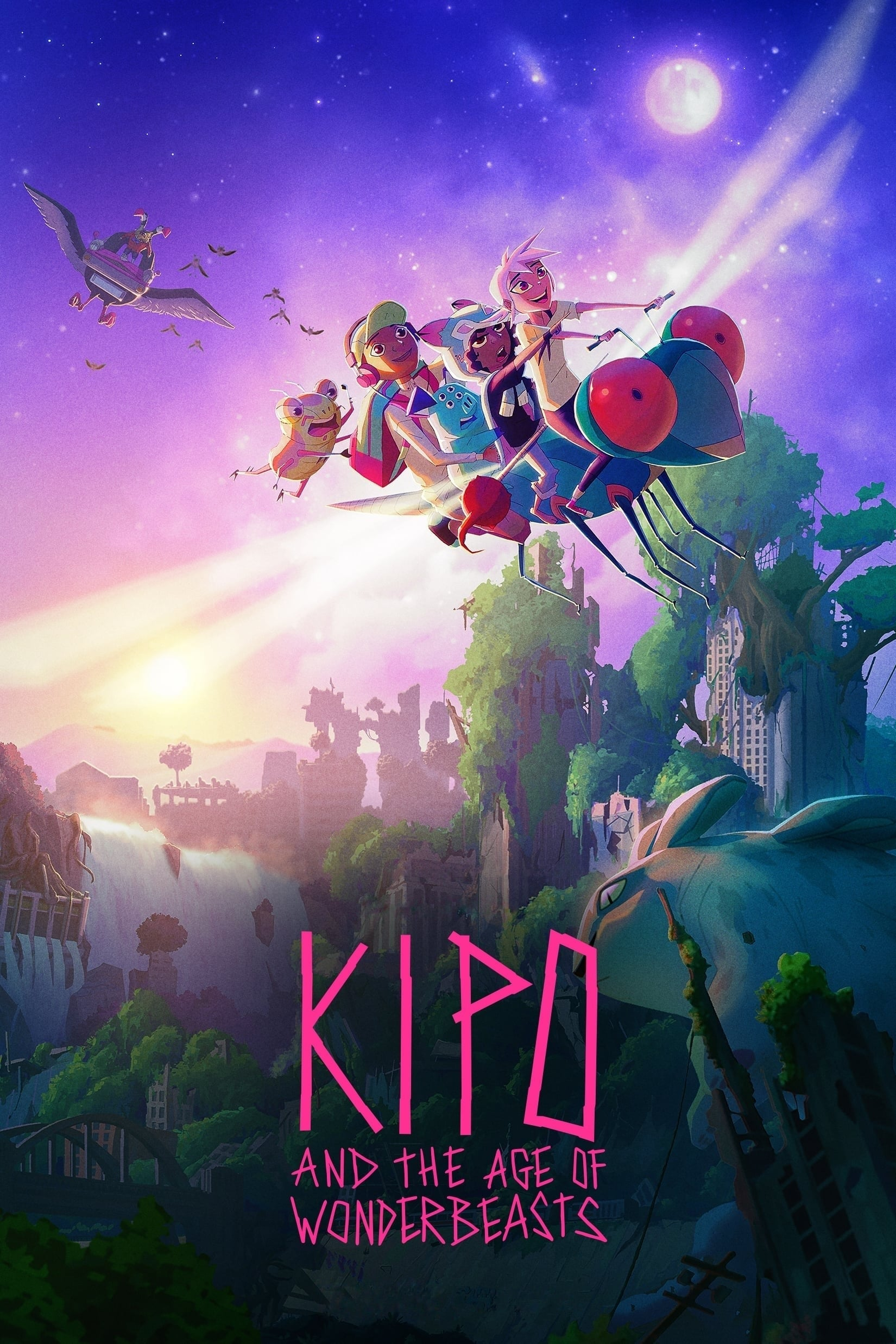 Kipo and the Age of Wonderbeasts TV Shows About Kids